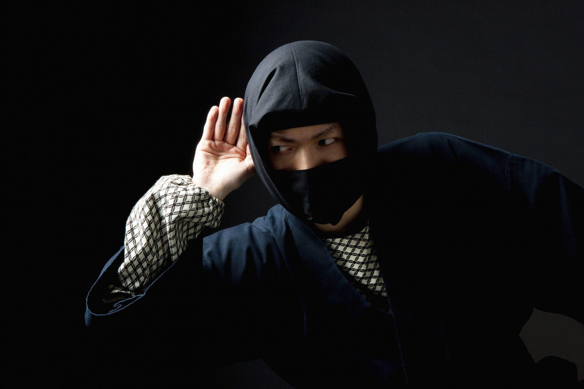 窃取情报的忍者