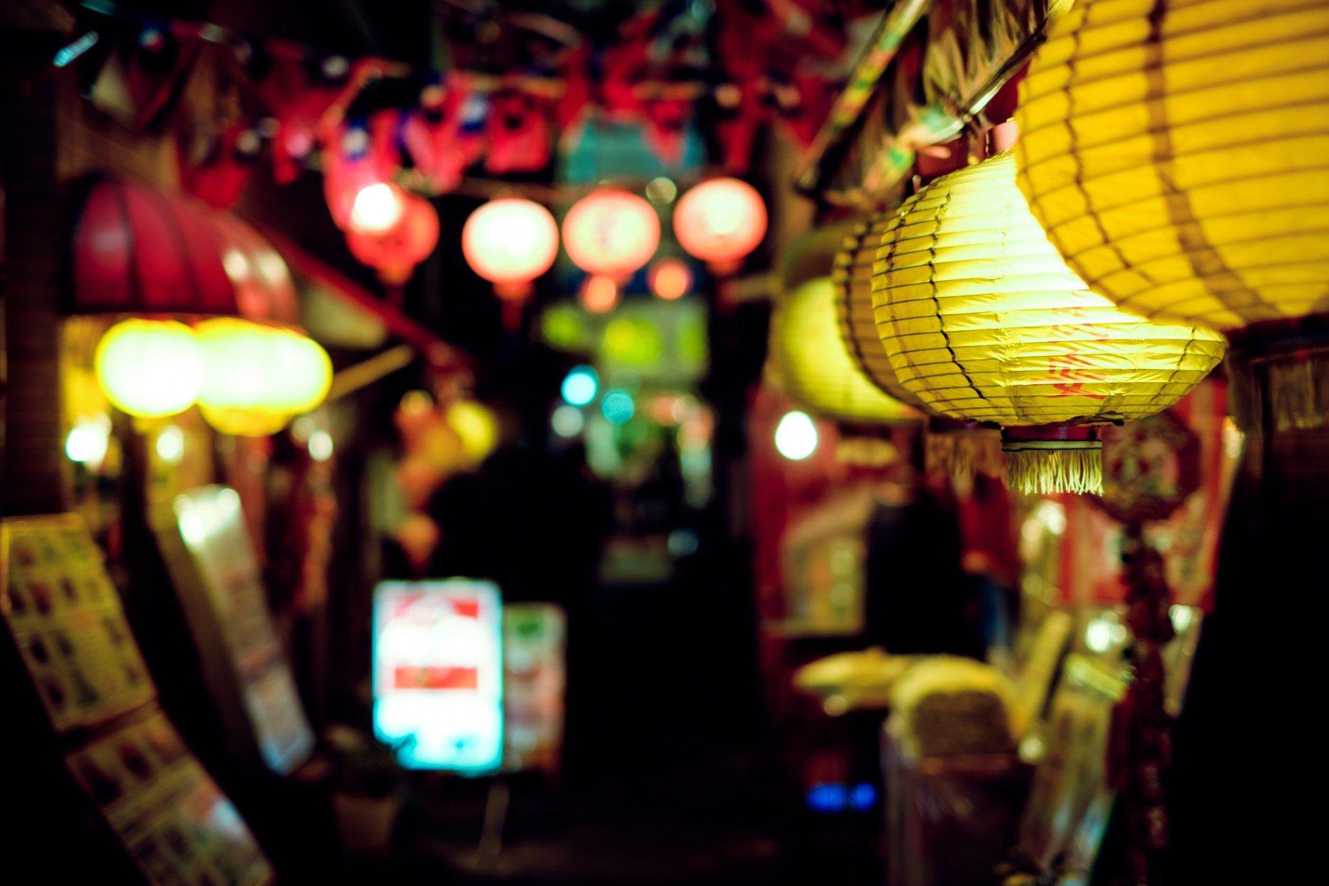 夜晚的居酒屋