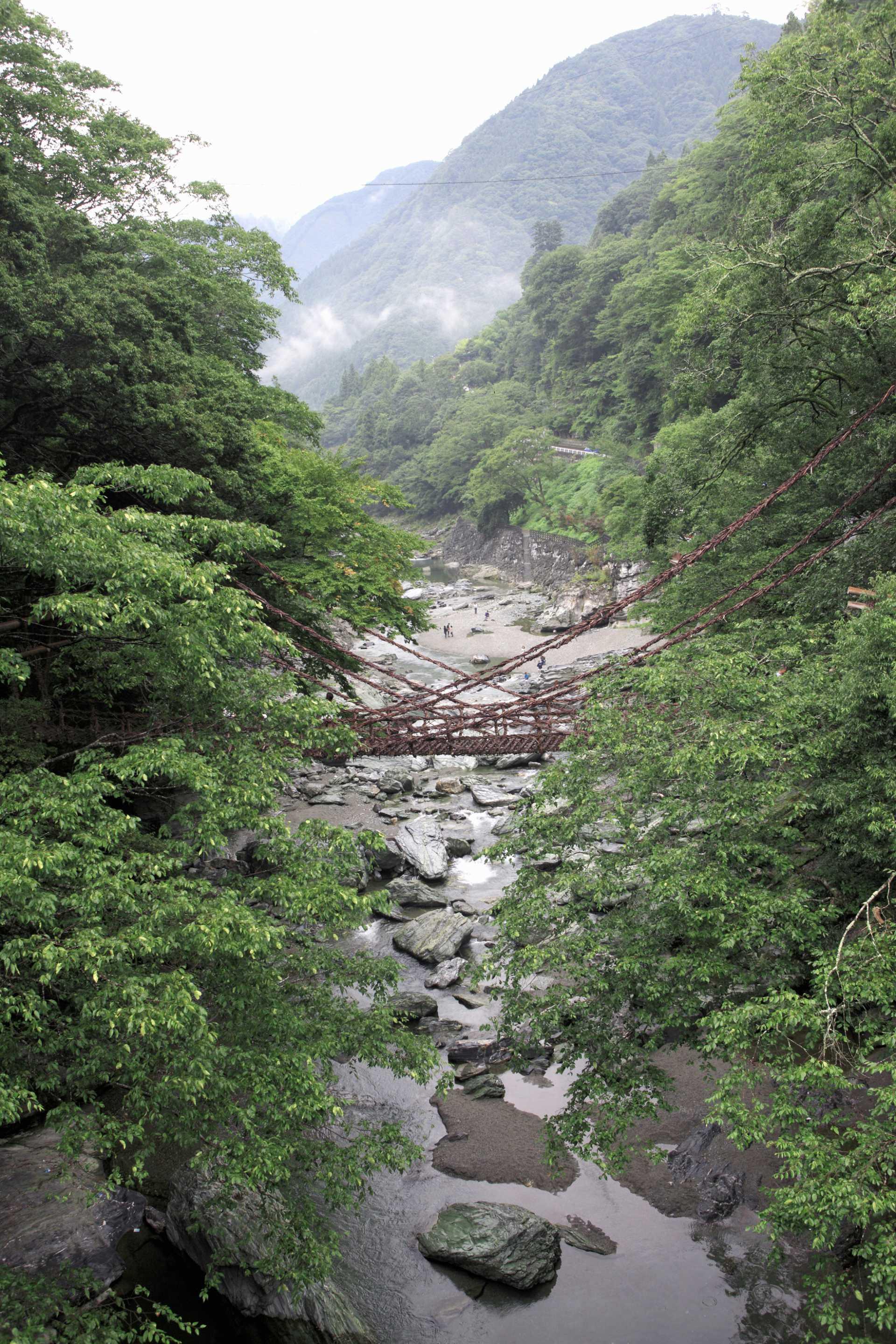 三大秘境之一祖谷溪谷