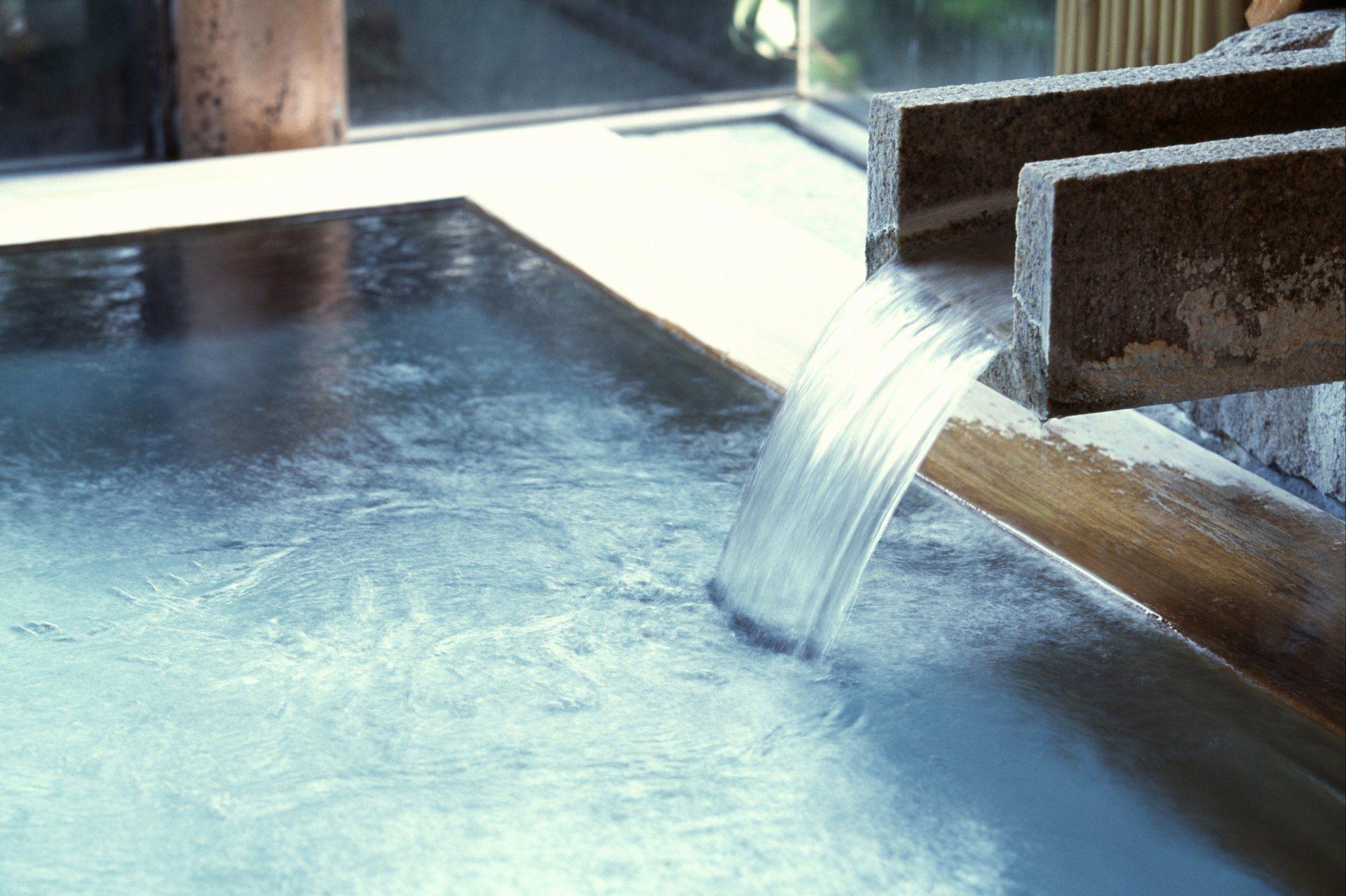 日本著名的三大秘汤之一祖谷温泉