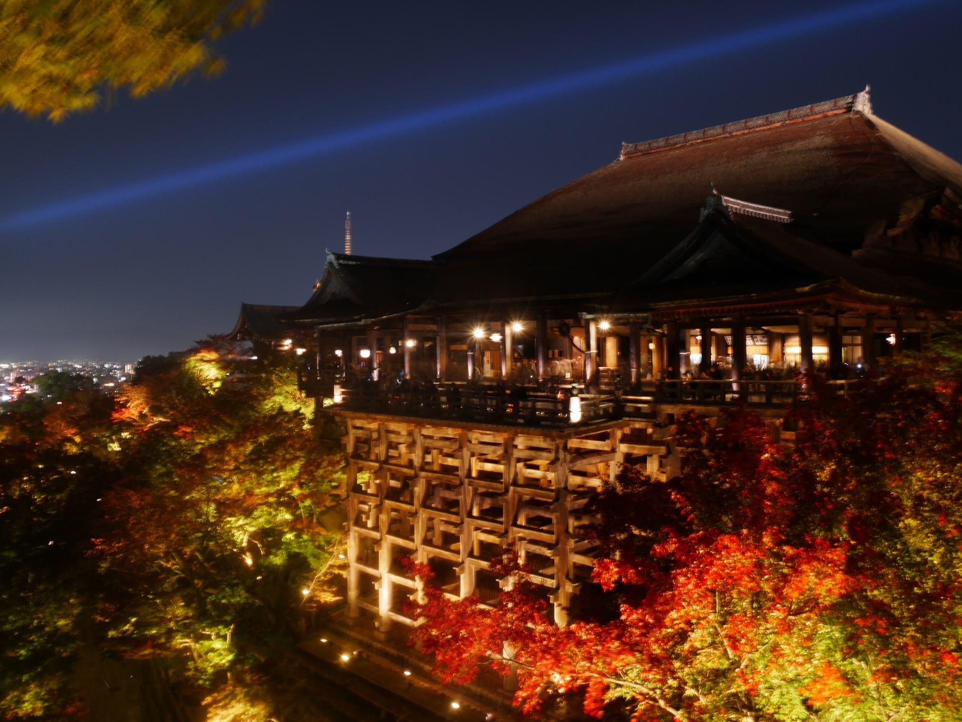 清水寺 夜間特別點燈