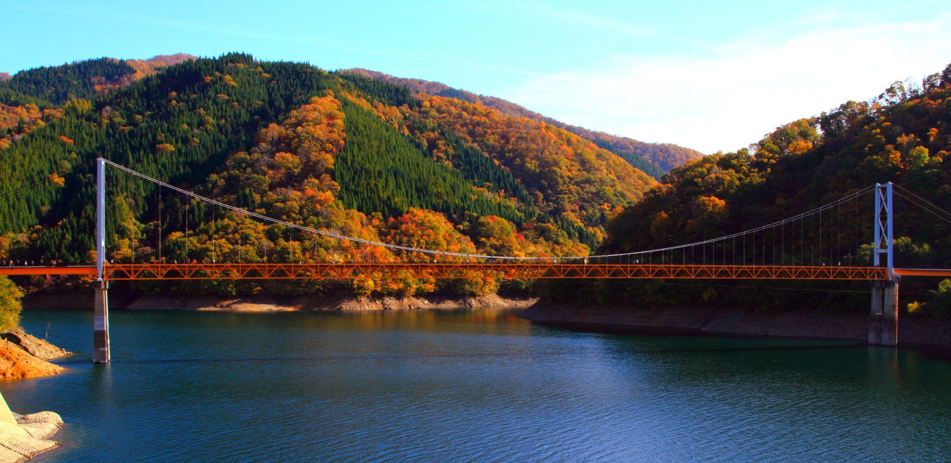 九頭竜湖 瀬戸大橋