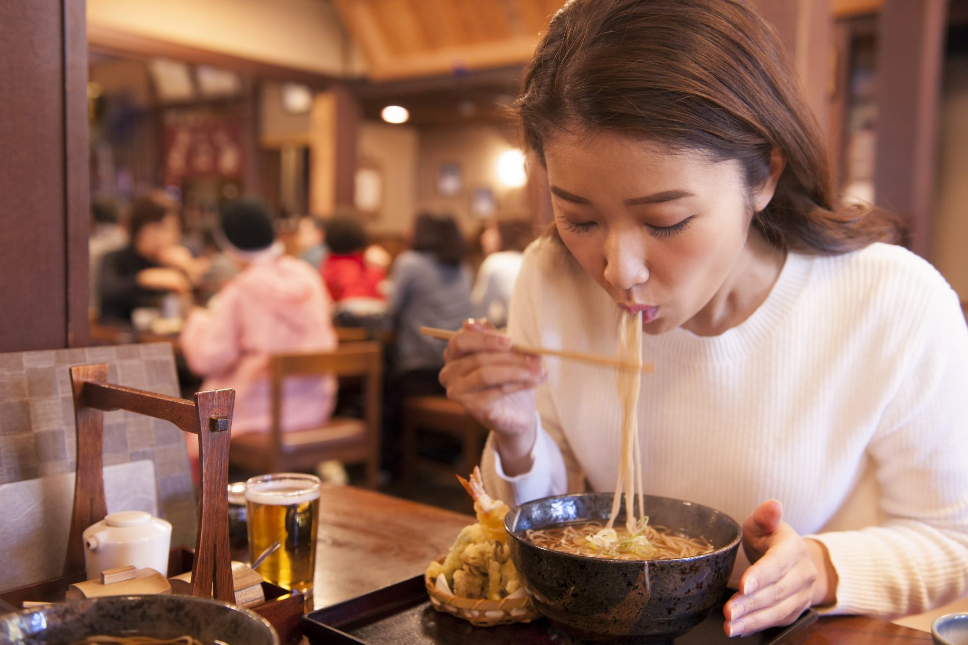 Soba is a Favorite of Japanese Women!