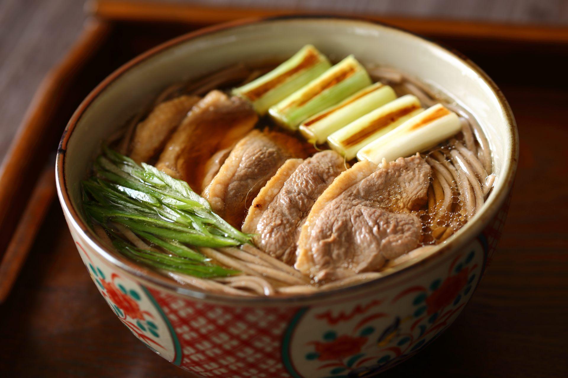 鸭肉南蛮荞麦