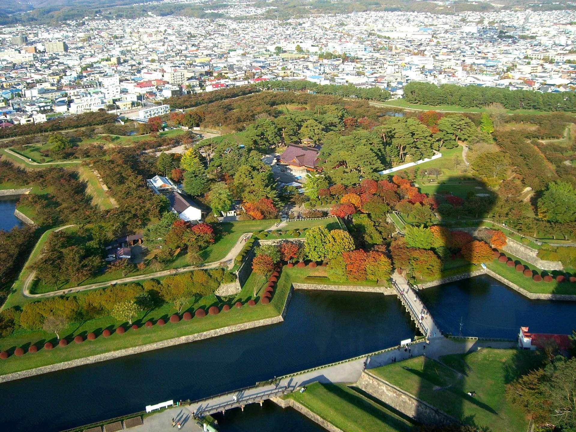 五稜郭公園 紅葉