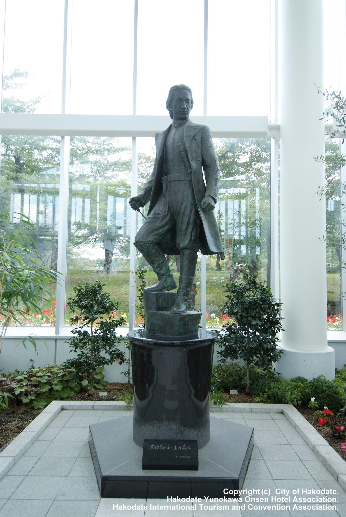 土方歲三銅像