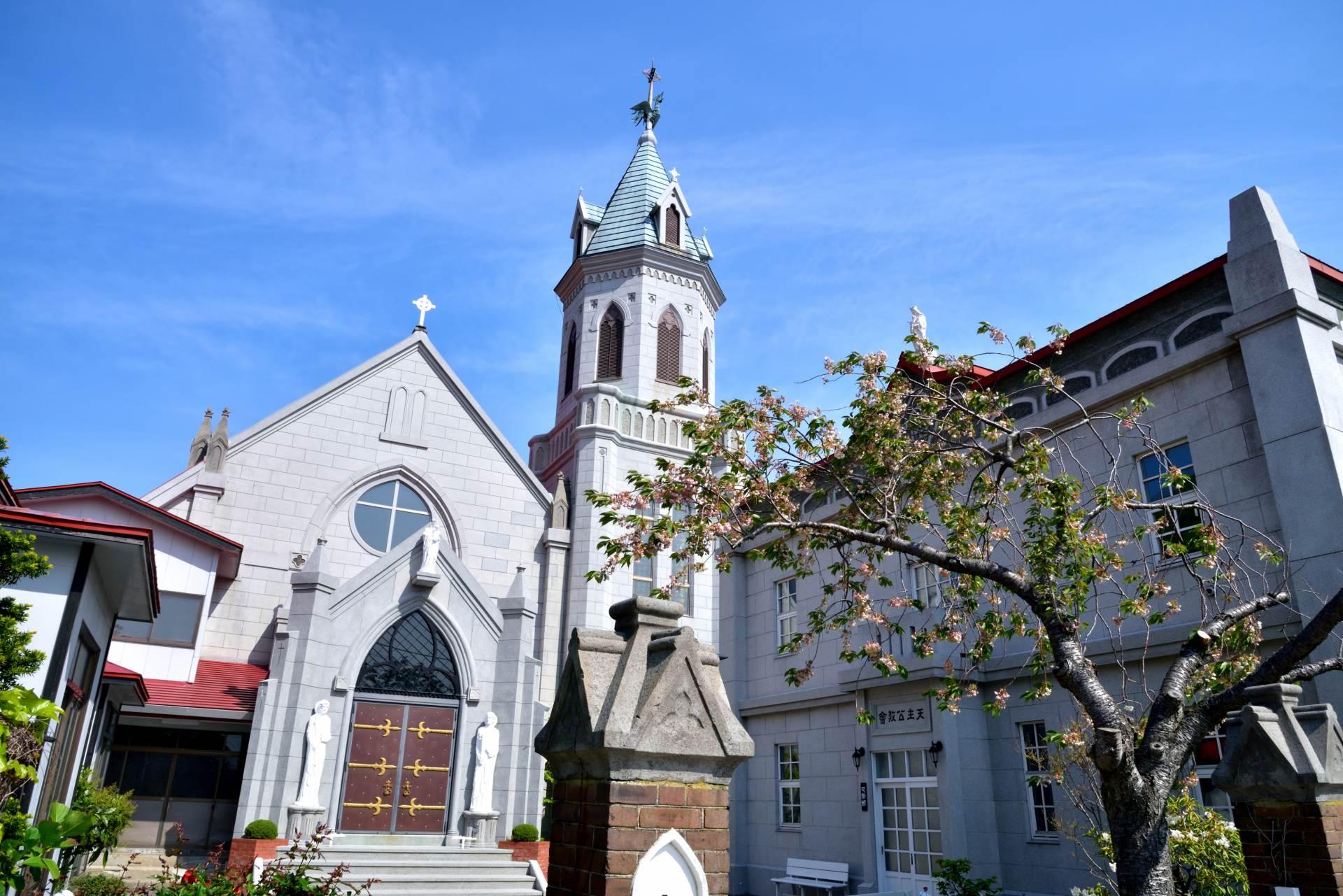 日本最古老的天主教堂之一,元町羅馬天主教堂