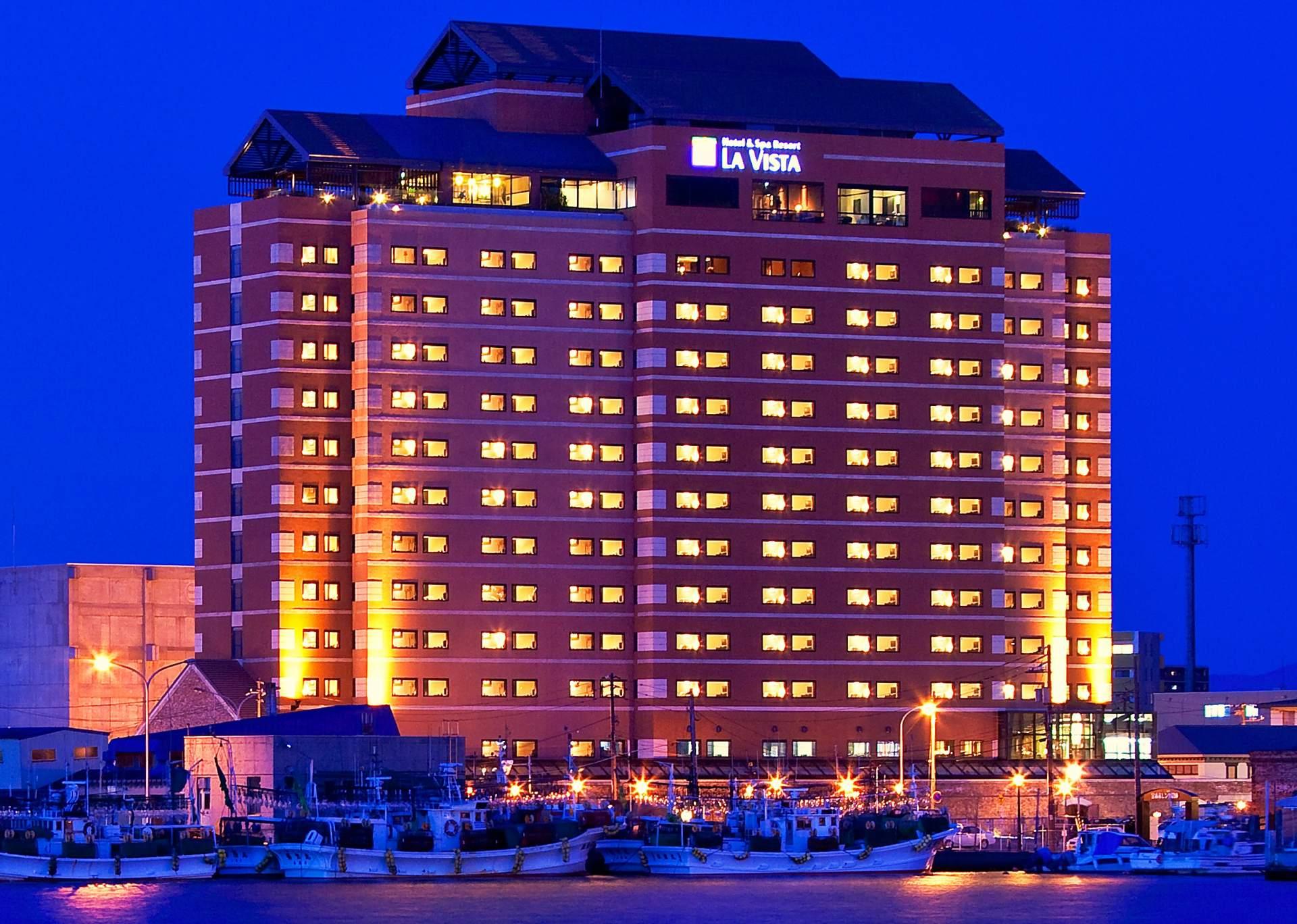 La Vista函館海濱飯店 外觀