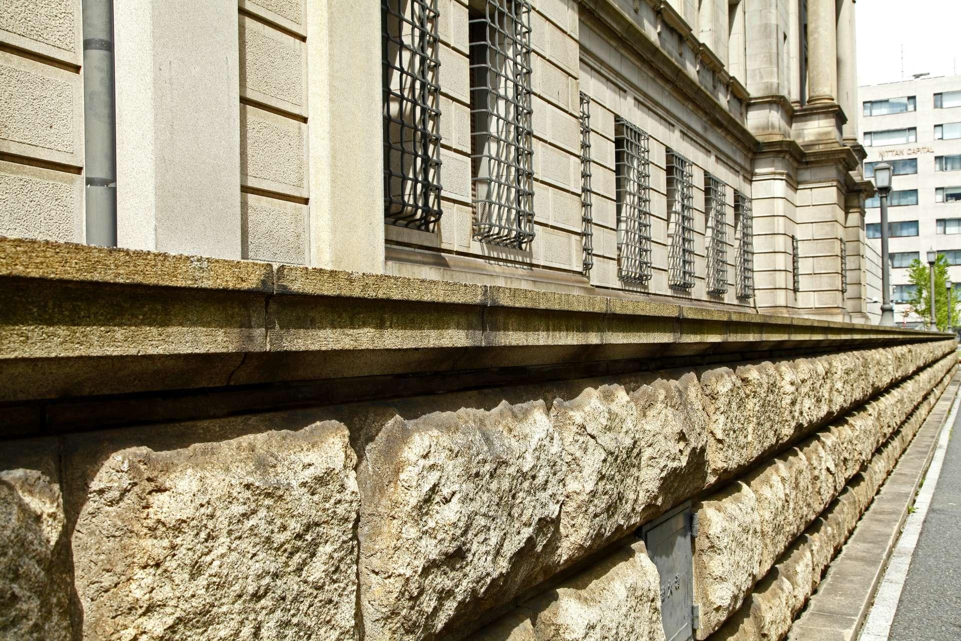日本银行本馆 外墙