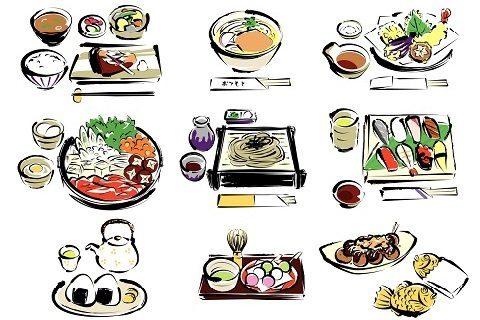 全世界都在流行吃的和食。