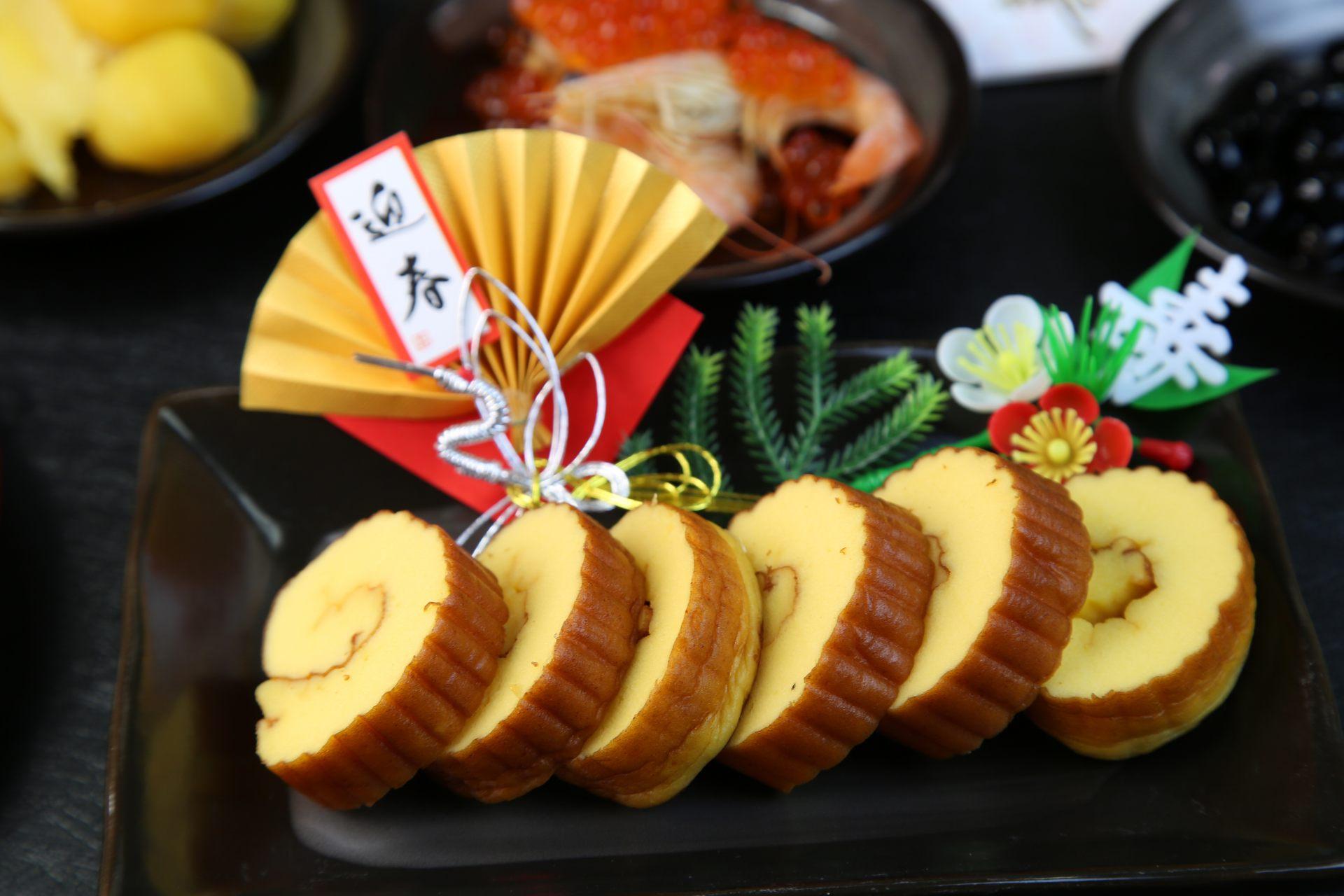 御節料理的代表食材:伊達巻玉子