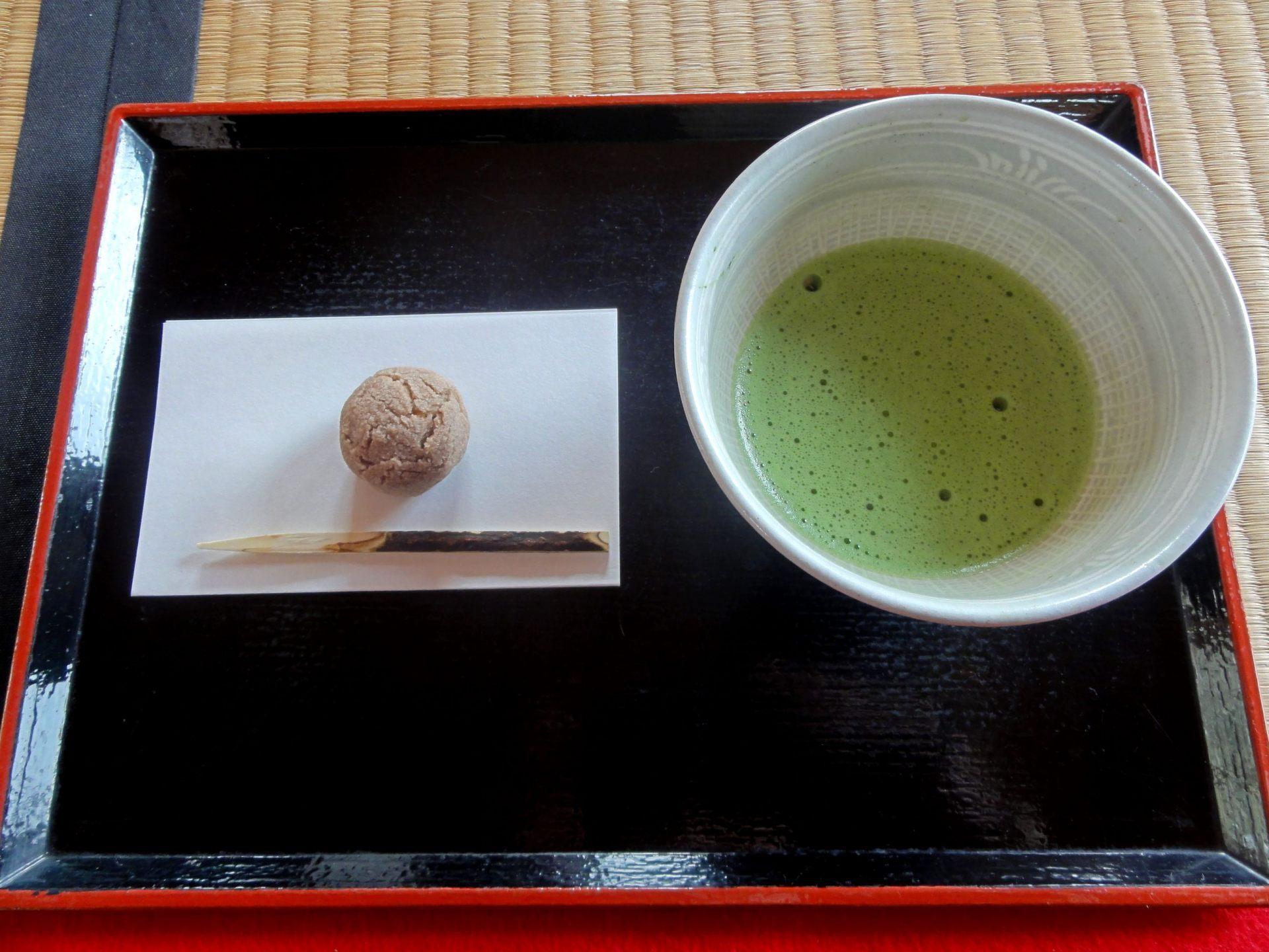 抹茶甜點Set(510日圓)