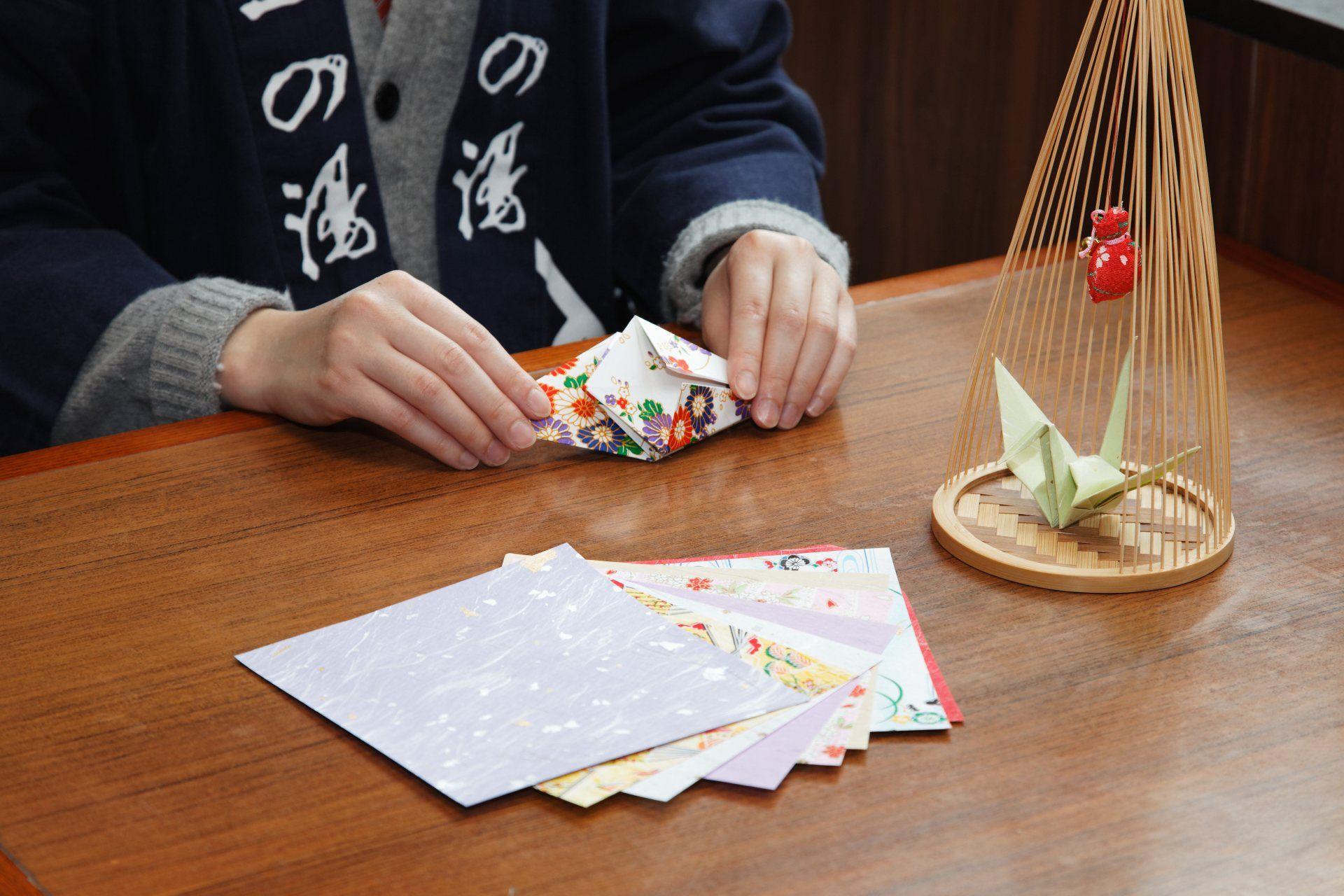 紙鶴製作體驗