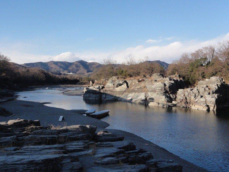 the Arakawa River in Nagatoro