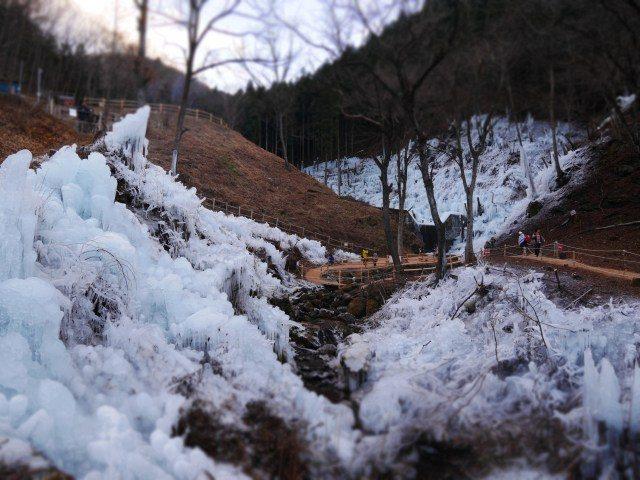 芦久保 冰柱景点