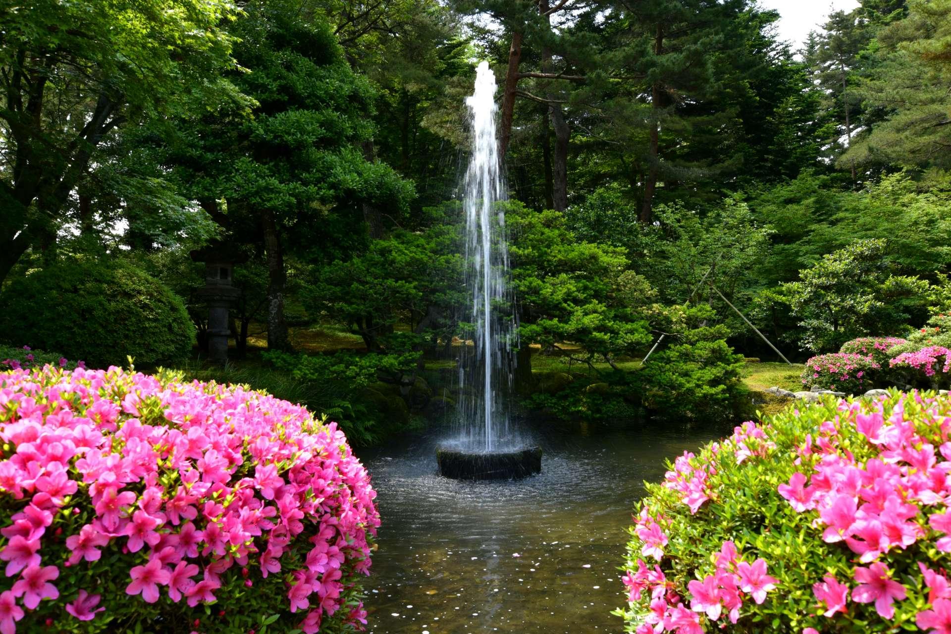 日本現存最古老的噴泉