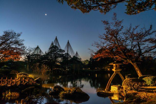 日本三大名園之一的兼六園