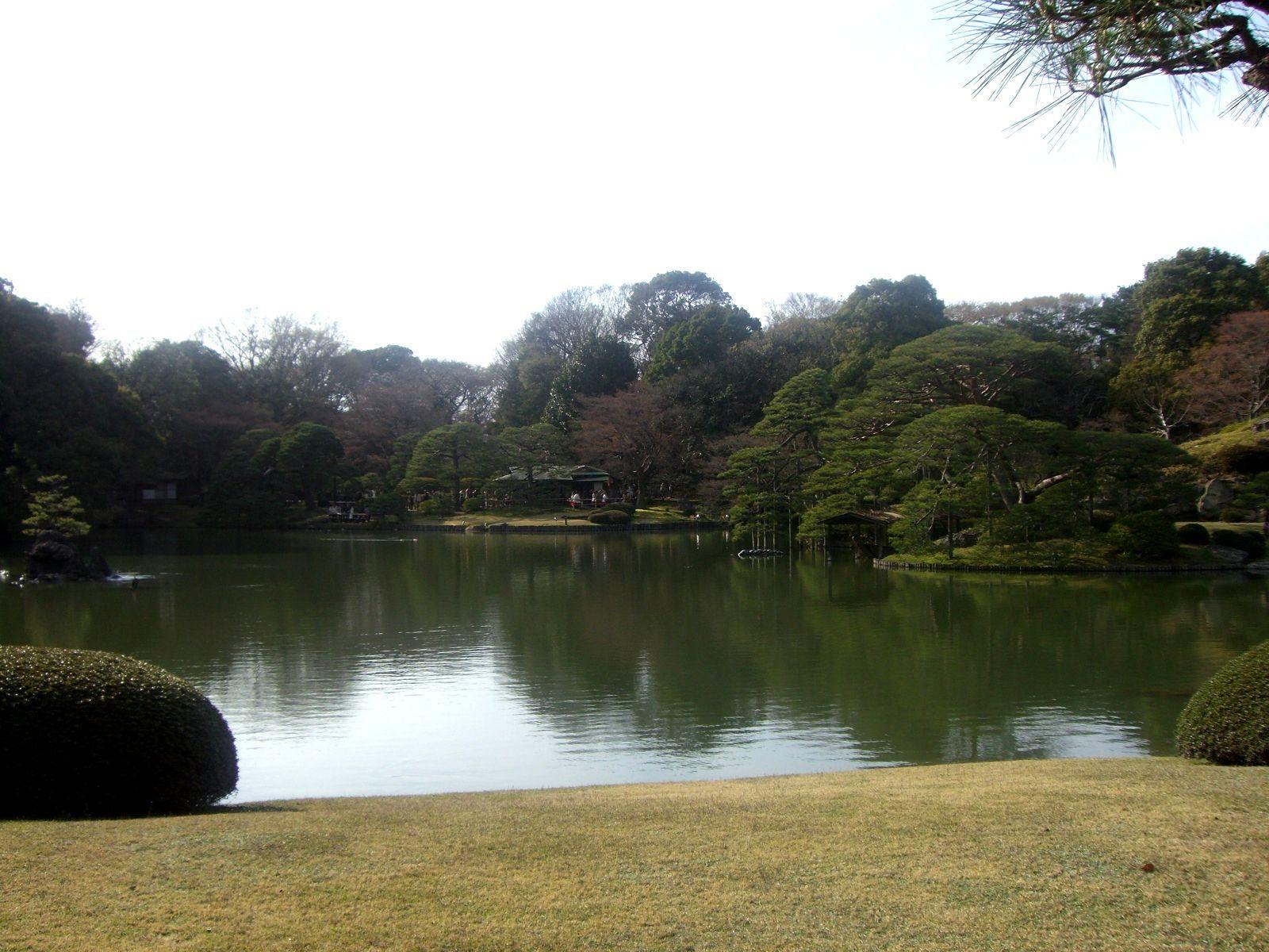 白天的大名庭园