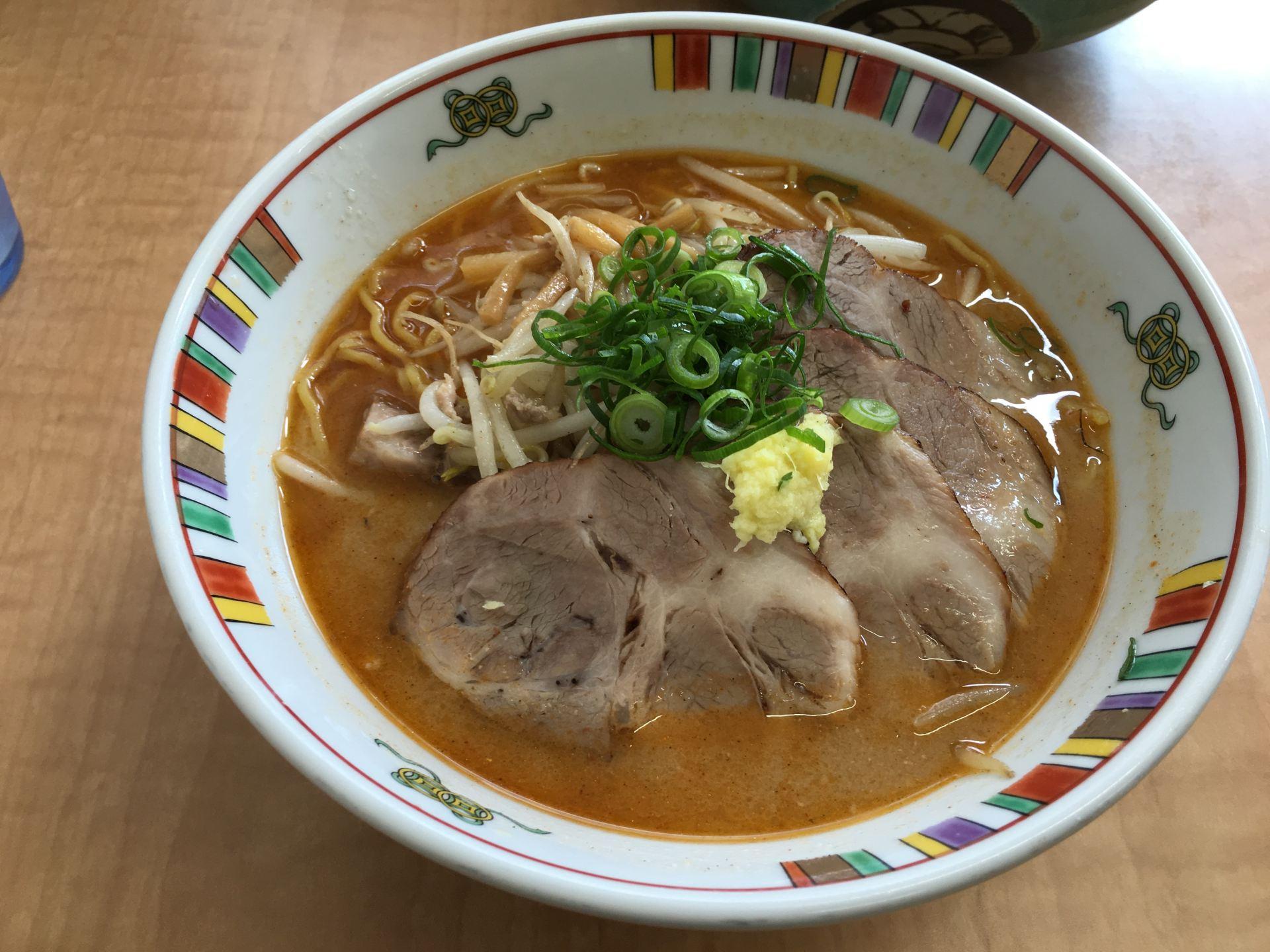 「麵屋 彩未」招牌拉麵:味噌拉麵(750日圓)
