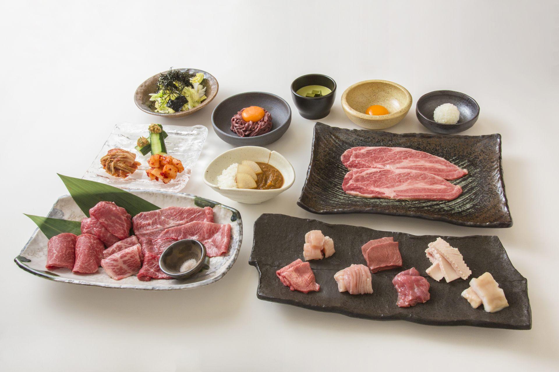 A5黑毛和牛套餐(2人份/4000日圓)