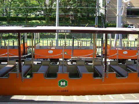 黑部峽谷小火車・一般客車