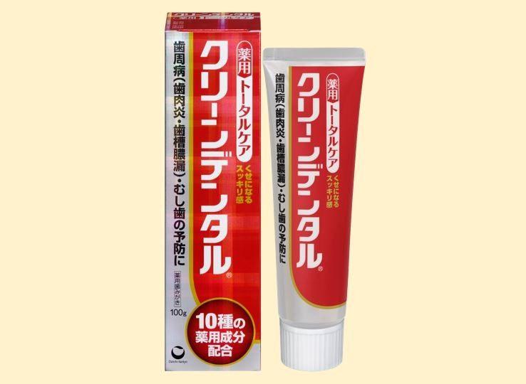 藥用牙膏:Clean Dental