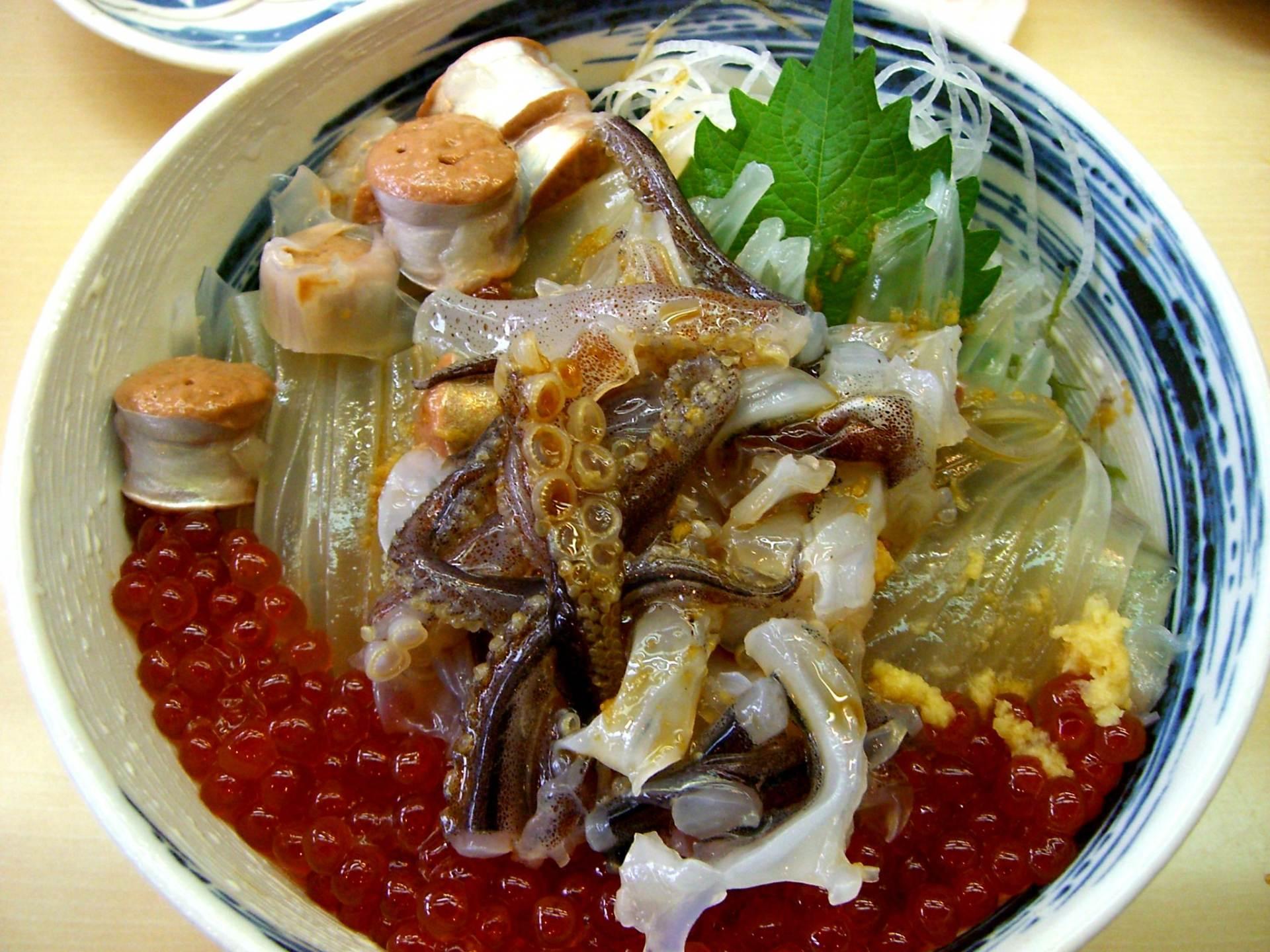 海鮮丼-烏賊之舞