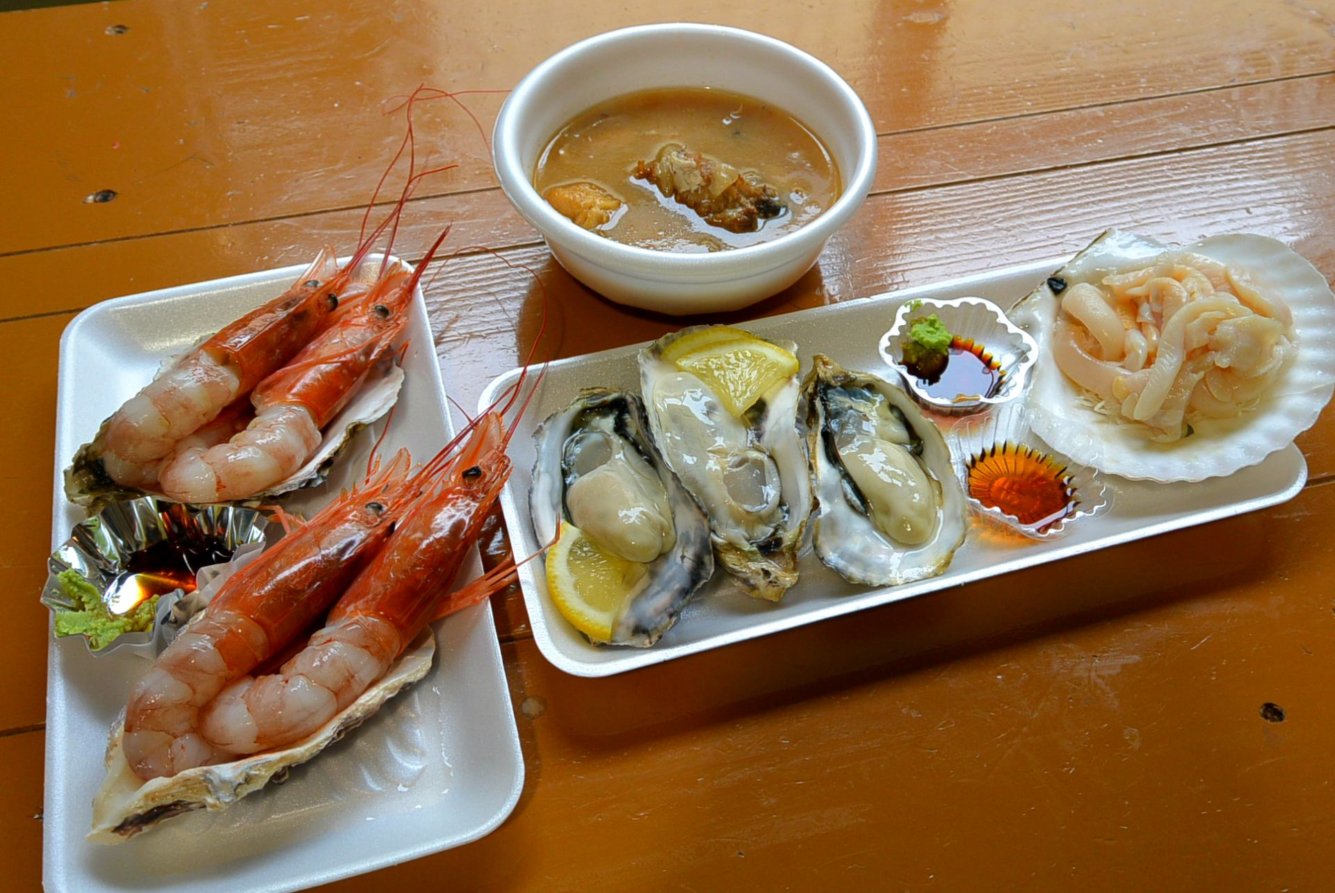 豪華的海鮮大餐!!