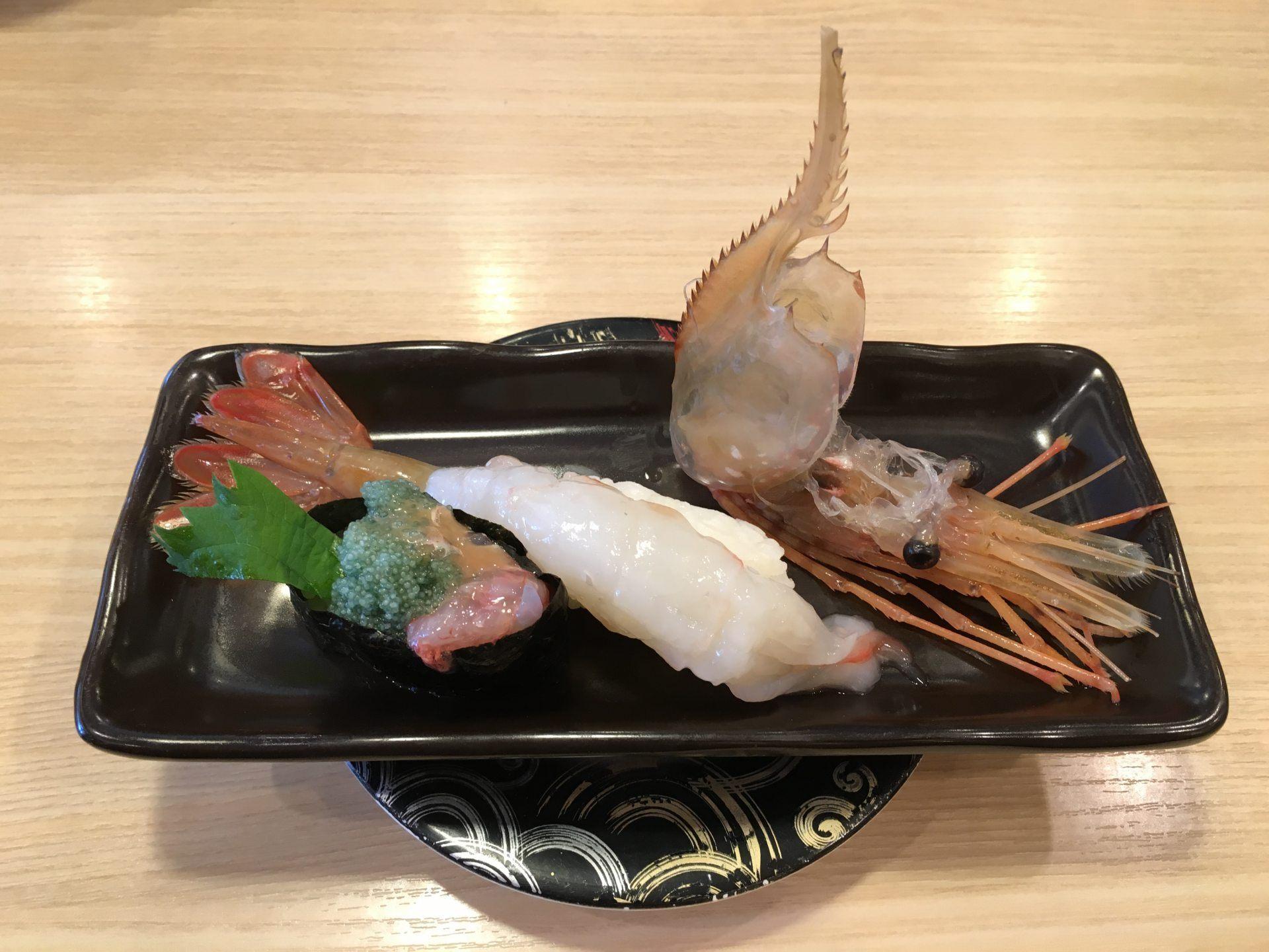 超大牡丹蝦(530日圓)