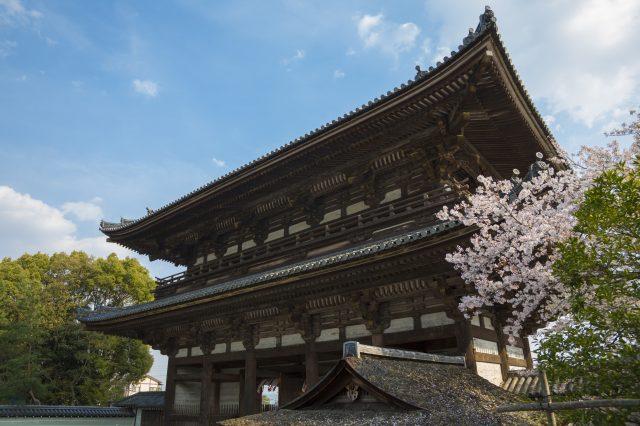 【京都三大門】之一的「二王門」