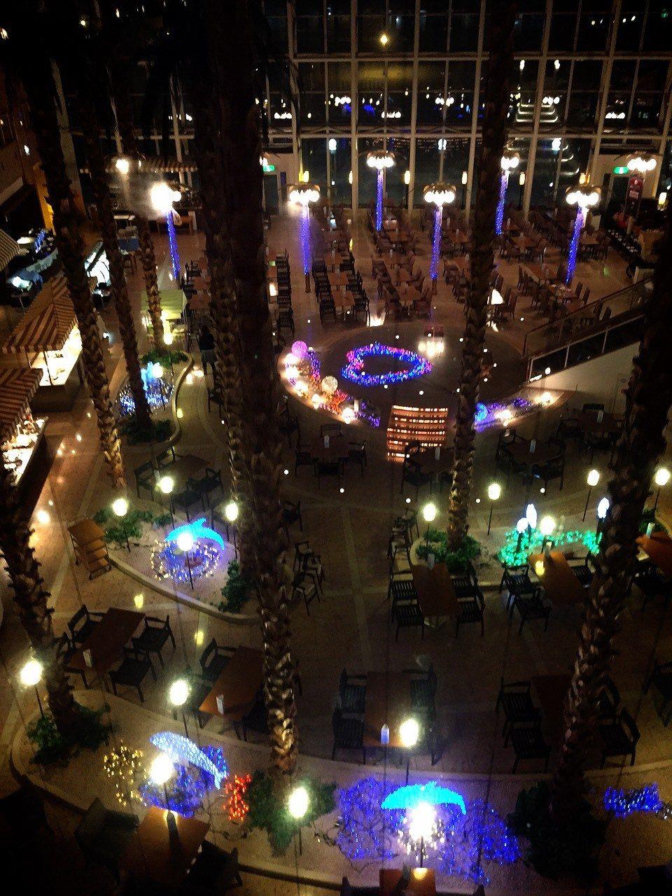 飯店中央區的餐廳