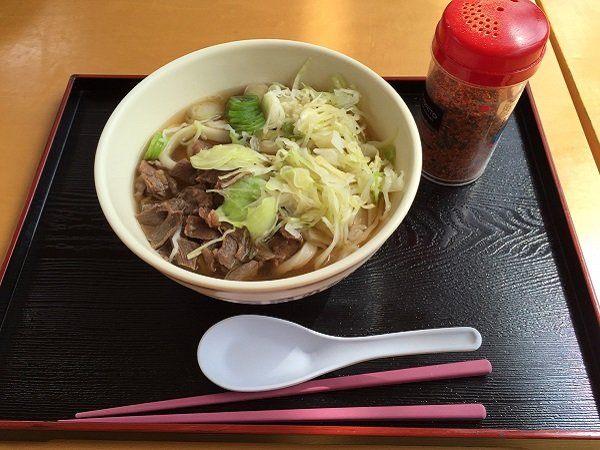 吉田馬肉烏龍麵