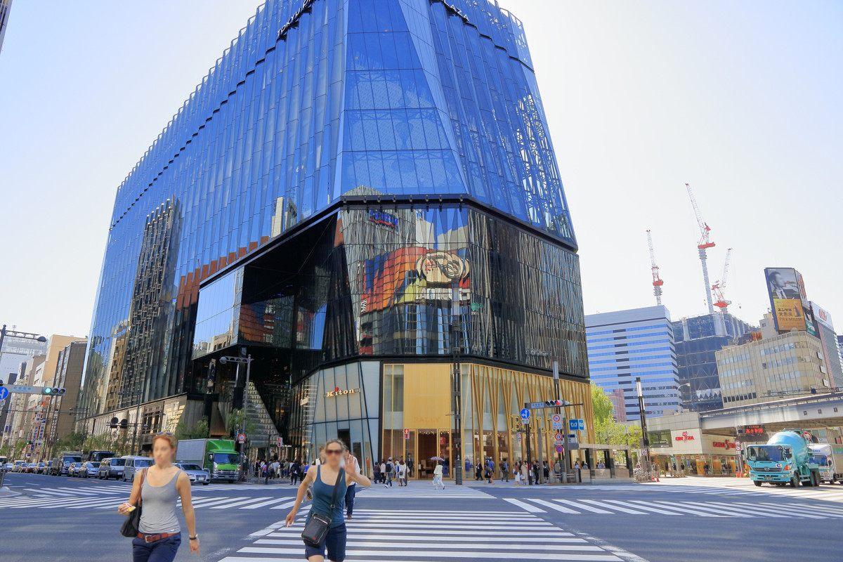 于2016年3月31日正式开幕的银座东急广场