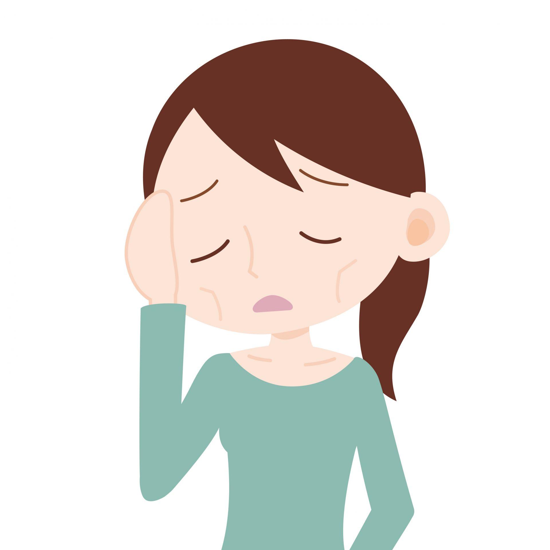 40歲以後的女性容易產生各種不適症狀