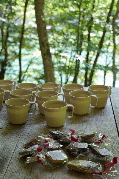 原創香草茶和手製小甜餅乾