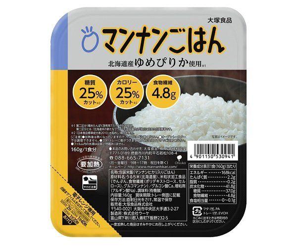 Otsuka Foods Co.,Ltd.: 低糖米 (マンナンごはん)