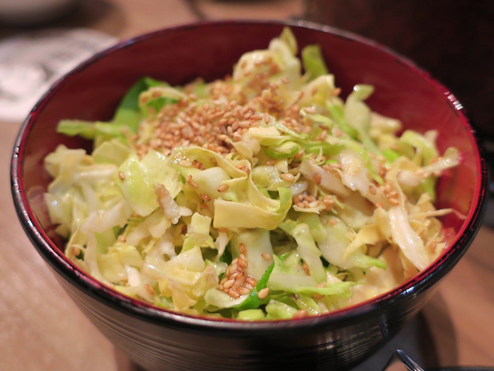 鹽味高麗菜(286日圓)