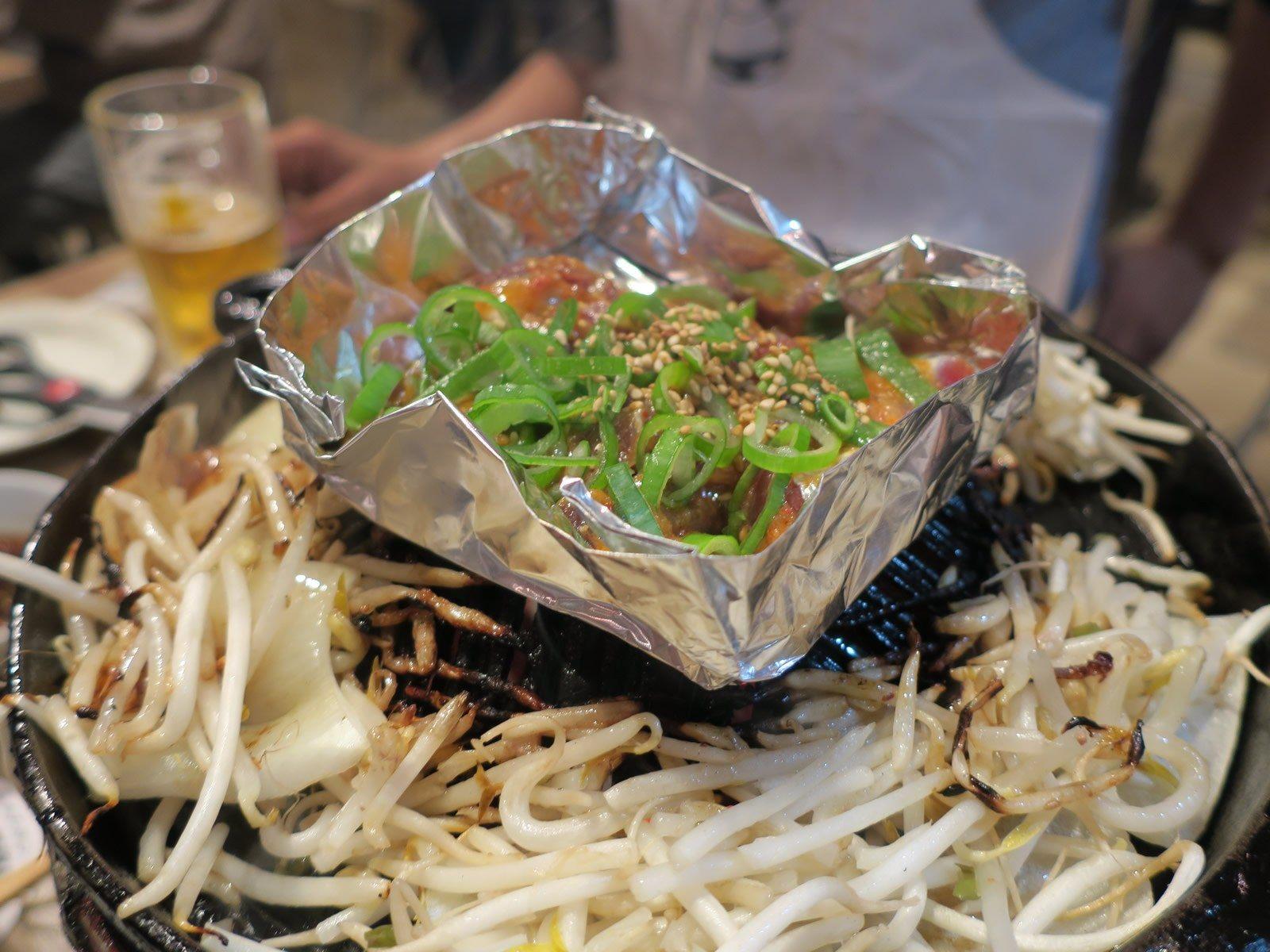 辣烤羊肉(477日圓)