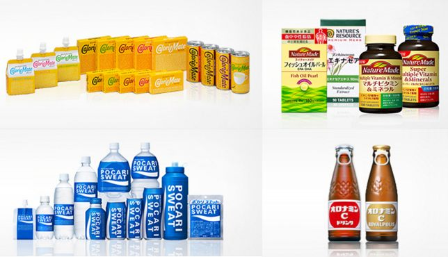 Examples of some of Otsuka Pharmaceutical Group's many products