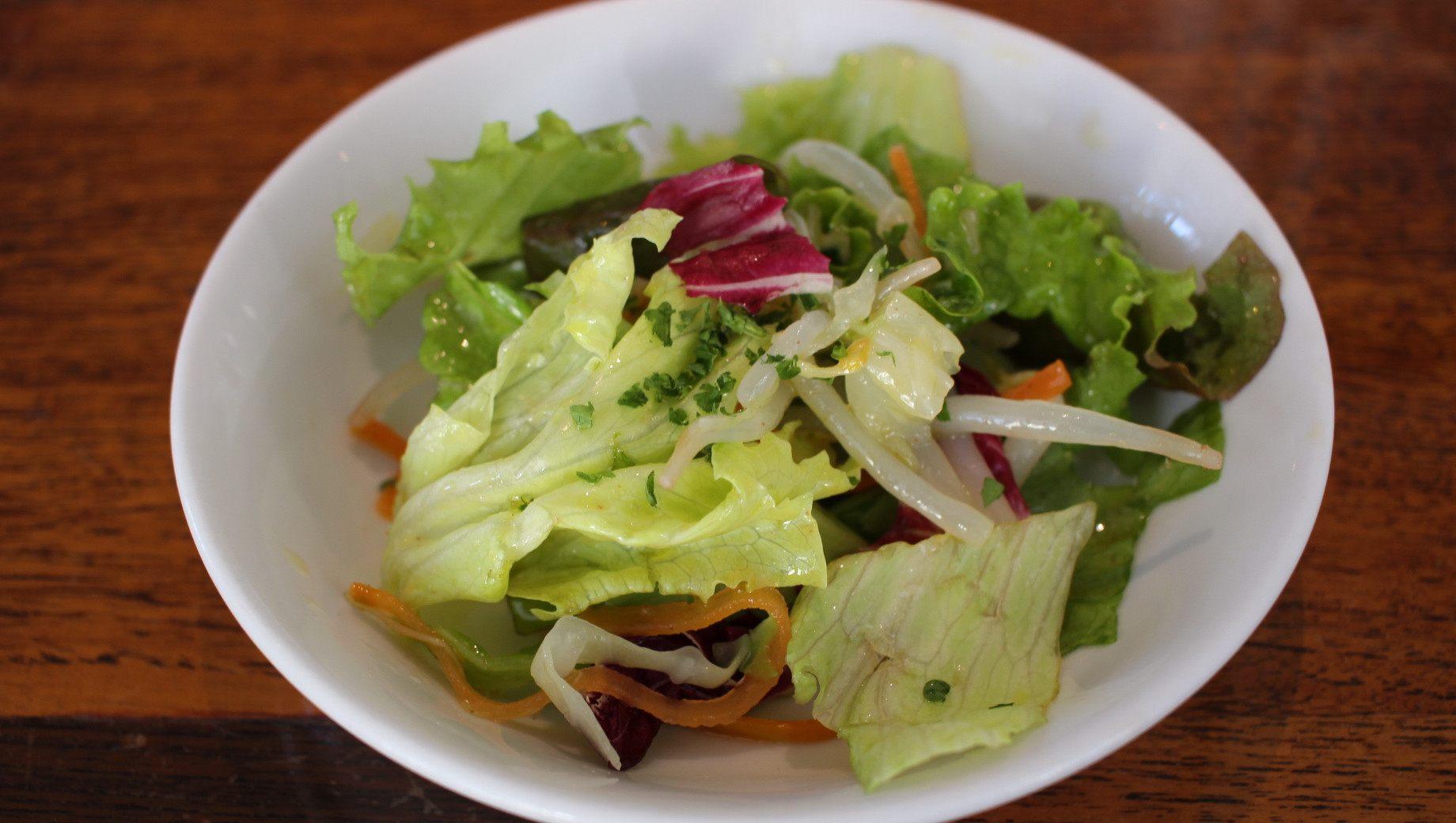 A Votre Sante Endo,  a mini salad