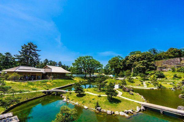玉泉院丸庭园 景观