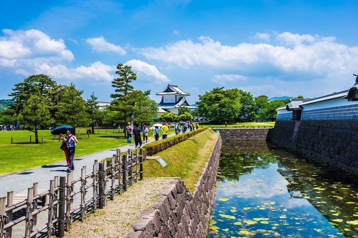 石川門 遠景