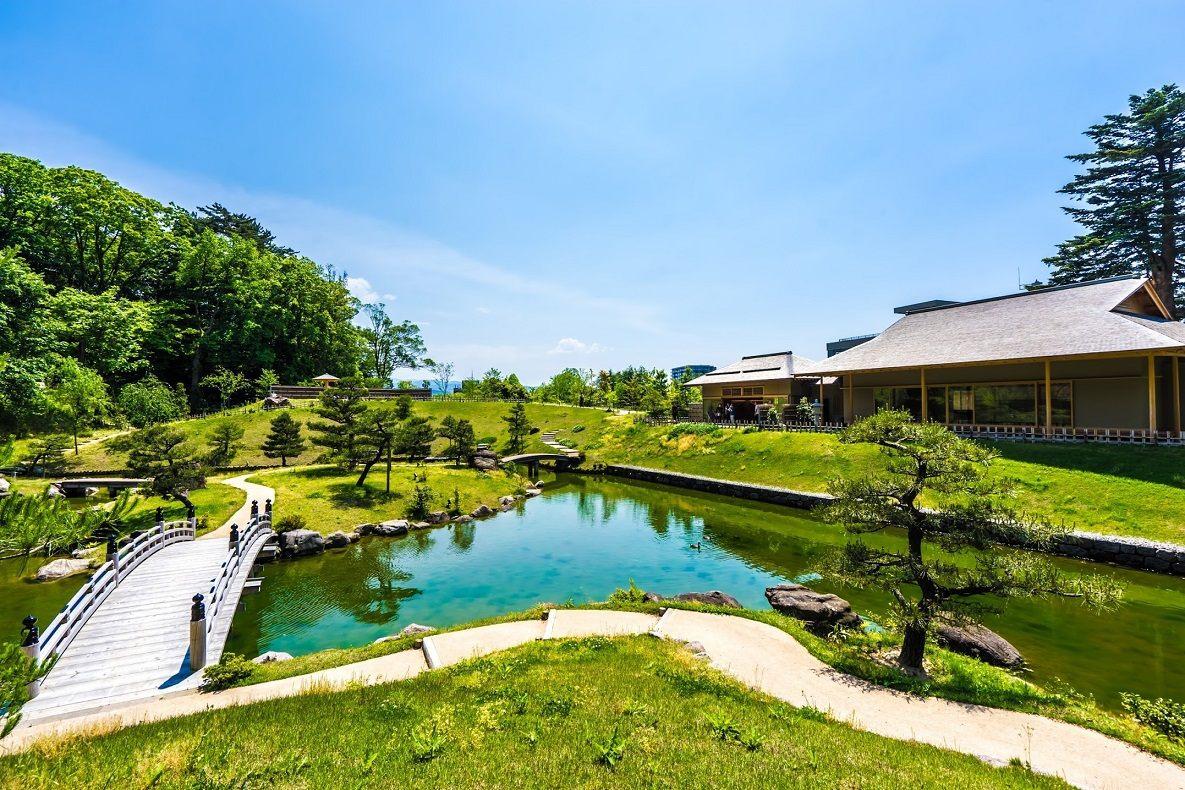 玉泉院丸庭園 景觀