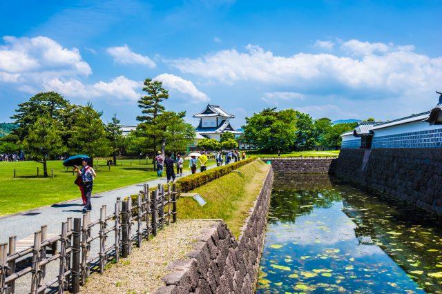 【遊紀】在金澤城公園散步拍照~