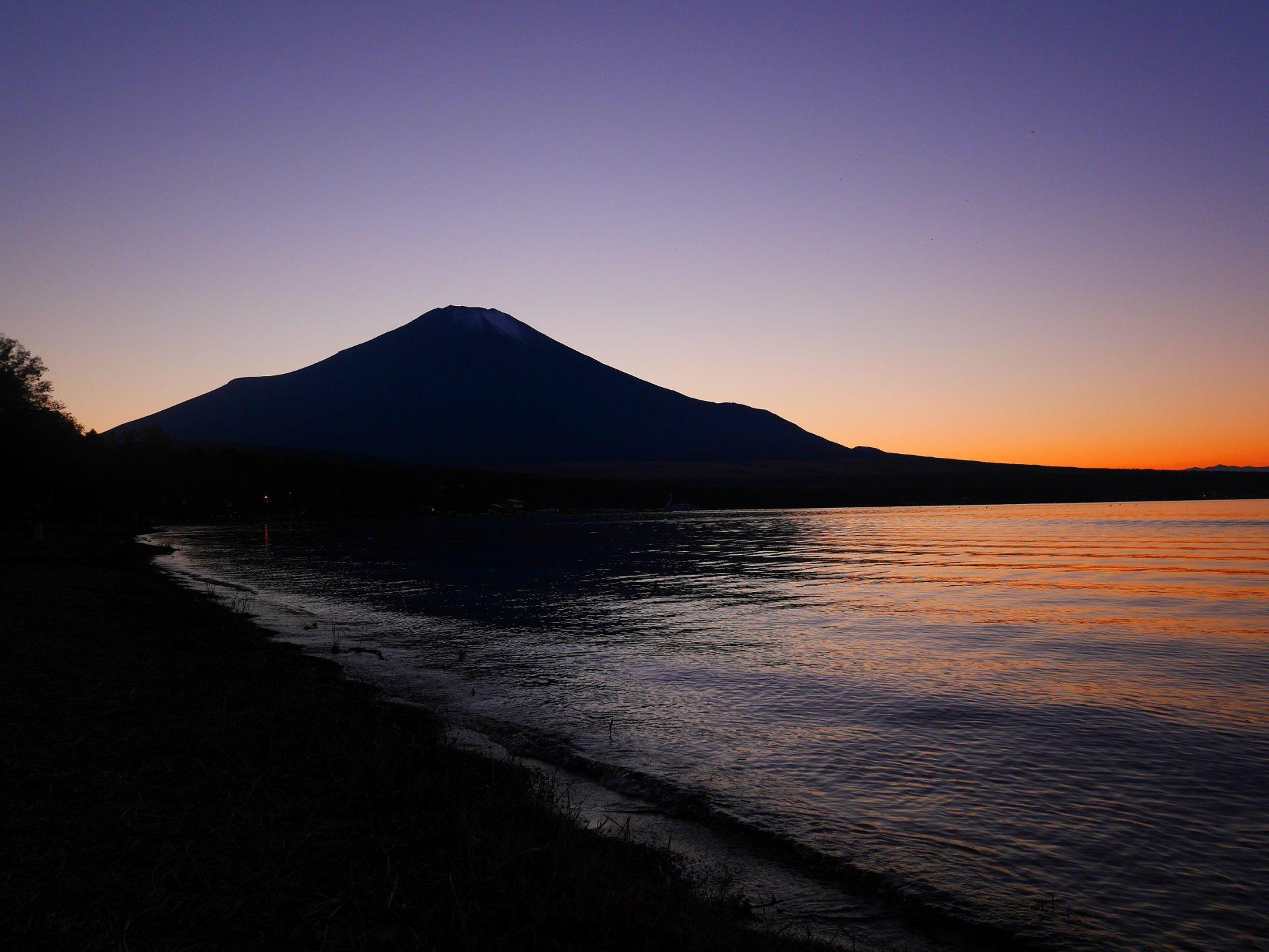 湖畔晚霞 展望台