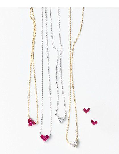 Mysterious Heart 心形珠寶項鍊