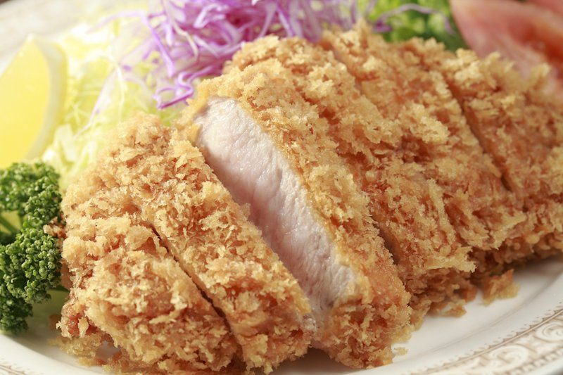 Tonkatsu (Fried Breaded Pork Cutlet)