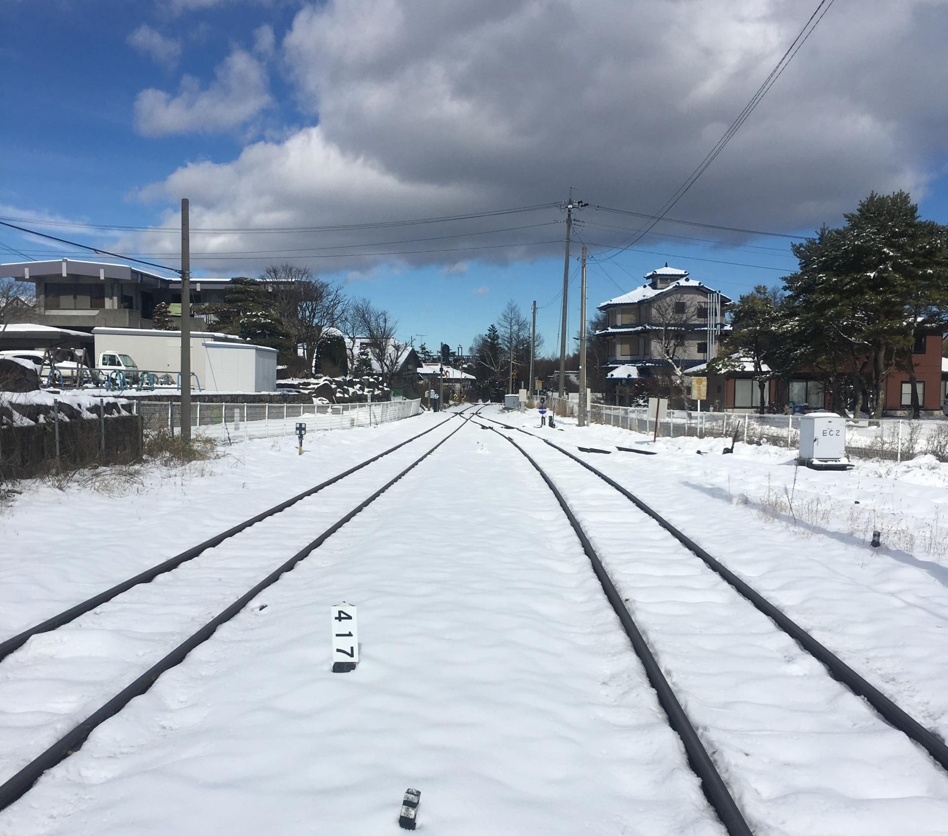 前往清里車站