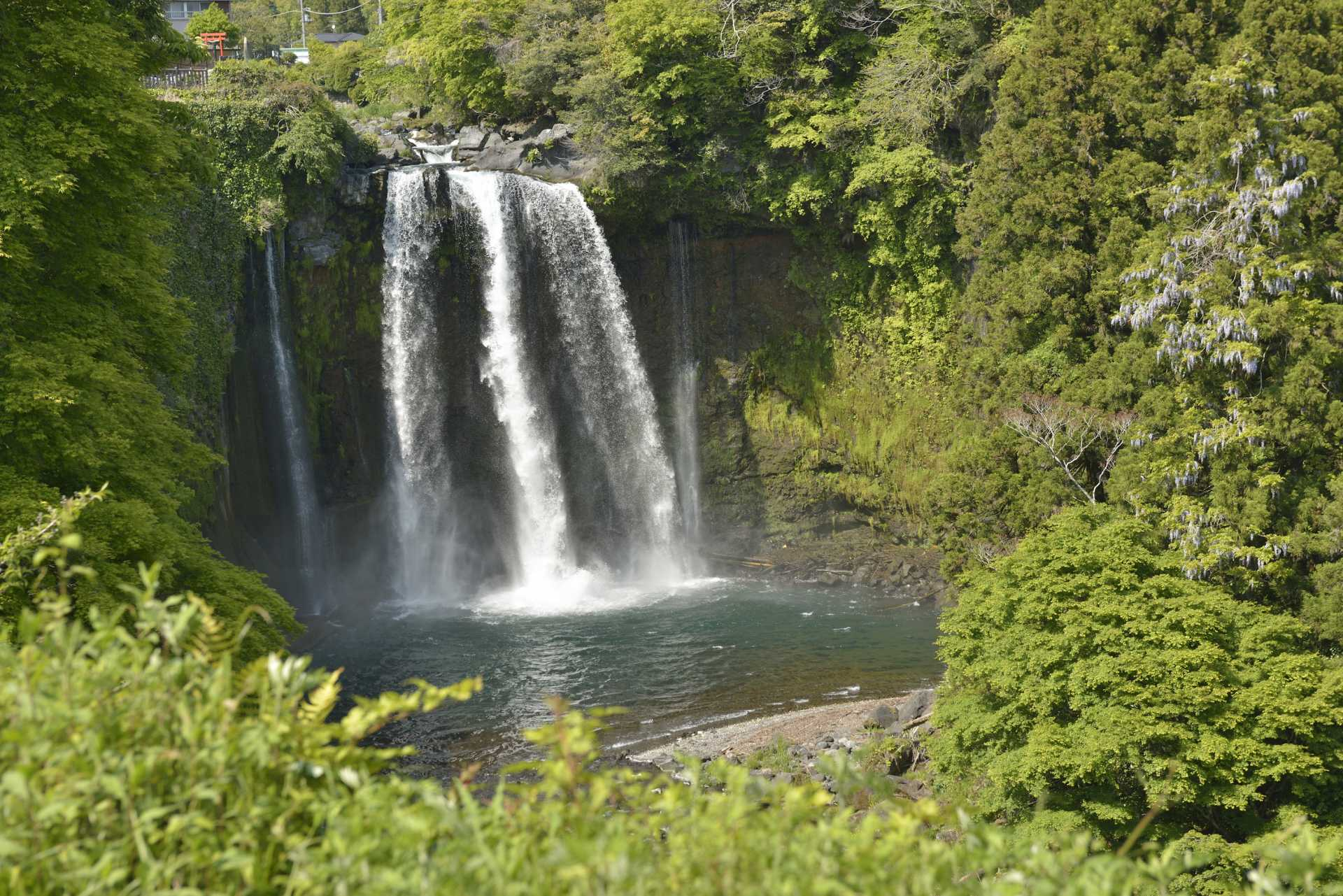 Otodome Falls, Shiraito Falls, World Cultural Heritage, Fujinomiya City