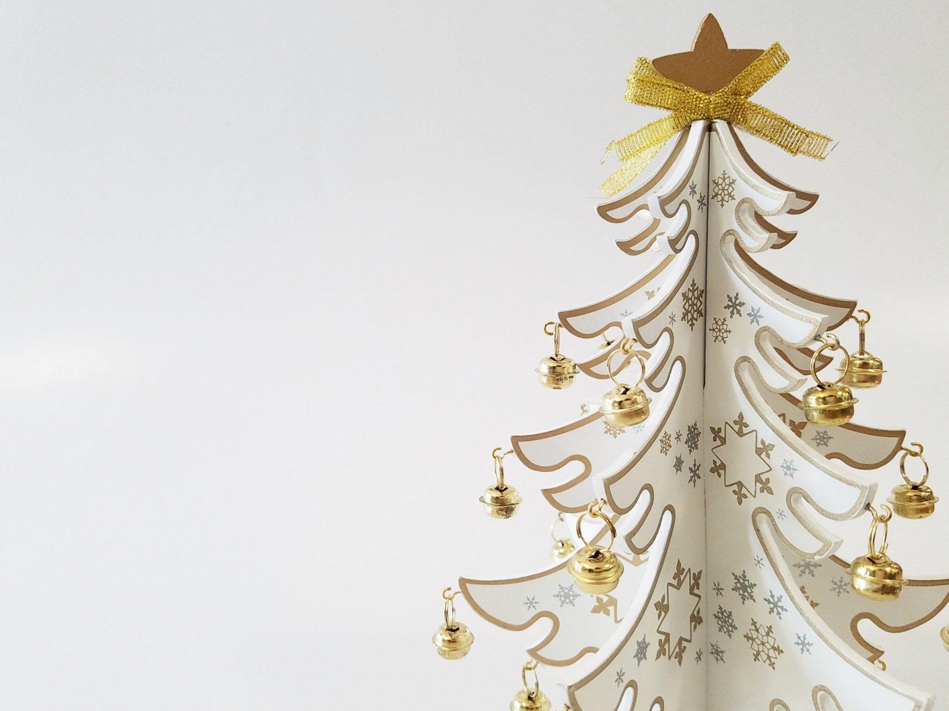 立體的聖誕樹